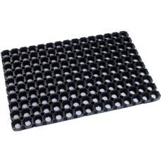 Коврик грязезащитный (ячеистый) резиновый, 500х1000х16 мм