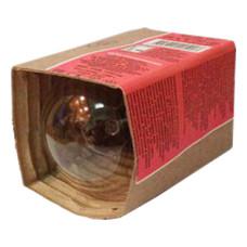 Лампа накаливания Калашниково (гофрокоробка), мощность-60 W, цоколь-27 Е