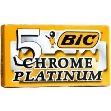Лезвия Bic Chrome Platinum 5 шт (20 уп. в коробке)