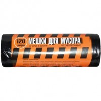 Мешки для мусора особопрочные Полосатик, 120 л/10 шт