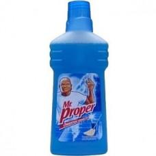 Моющая жидкость для уборки Mr. Proper (Мистер Пропер) Универсал Океанская Свежесть 500 мл