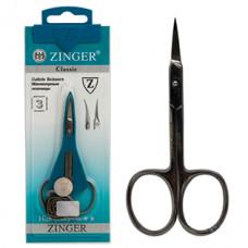 Ножницы маникюрные Zinger (Зингер) для кутикулы закругленные, ZS B-118-S