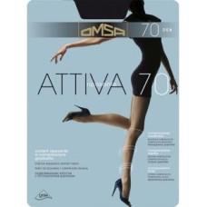 Колготки OMSA Attiva (Омса Аттива), Daino (цвет загара), 70 den, 2 размер