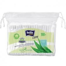 Ватные палочки BELLA (Белла) с экстрактом Алоэ, мягкая упаковка, 160 шт