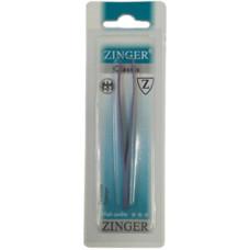 Пинцет скошенный цветной Zinger (Зингер) TS-106-slant