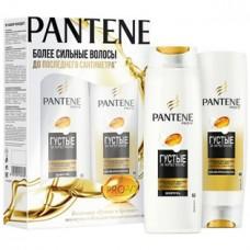 Набор Pantene Pro-V (Пантин) Густые и крепкие (шампунь 250 мл и бальзам-ополаскиватель 200 мл)
