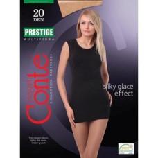 Колготки Conte Prestige (Конте Престиж) Nero (черный), 3 размер, 20 den