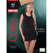 Колготки Conte Prestige (Конте Престиж) Beige (бежевый), 40 den, 5 размер