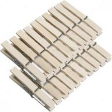 Прищепка бельевая деревянная Н-210, 20 шт
