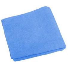 Салфетка из микрофибры (без упаковки) цвет голубой, 30*30 см, 220 г/м2