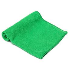 Салфетка из микрофибры (без упаковки) цвет зеленый, 50*60 см 220г/м2