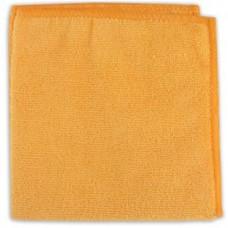 Салфетка из микрофибры (без упаковки) FRESH UP цвет оранжевый, 30*30 см