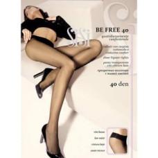 Колготки SiSi Be Free, Nero (черный) 40 den Vita Bassa, 3 размер