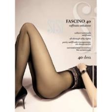 Колготки SISI Fascino 40 den, Nero (черный), 3 размер