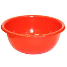 Таз пластмассовый Классика красный, 12 л