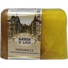 Косметическое мыло ручной работы Savon D Lion Тирамиссу, 100 г