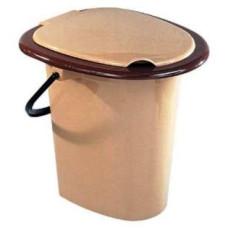 Ведро-туалет пластмассовое, 16 л