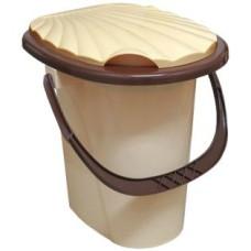 Ведро-туалет пластмассовое, 17 л, h=400 мм, 340х380 мм