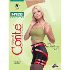 Колготки Conte X-Press 20 Den, Nero (черный), 3 размер