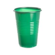 Стакан зеленый Антелла, 200 мл, 10 шт