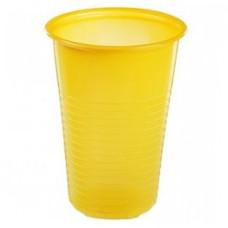 Стакан желтый Антелла, 200 мл, 10 шт
