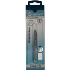 Пинцет прямой Zinger (Зингер) zo B-157-FD Оригинал
