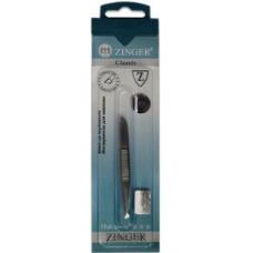 Пинцет скошенный Zinger (Зингер) zo B-162-FD Оригинал