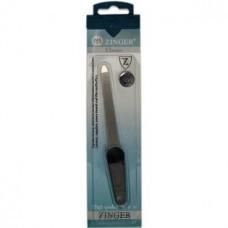 Пилка алмазная для ногтей 6 см Zinger (Зингер) zo F-6-logo №3 Оригина