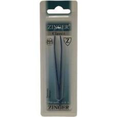 Пинцет прямой цветной Zinger (Зингер) ZSP TS-107-str